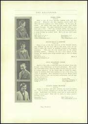 Page 16, 1929 Edition, Killingly High School - Killonian Yearbook (Danielson, CT) online yearbook collection