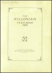 Page 3, 1929 Edition, Killingly High School - Killonian Yearbook (Danielson, CT) online yearbook collection