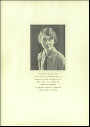 Page 6, 1929 Edition, Killingly High School - Killonian Yearbook (Danielson, CT) online yearbook collection