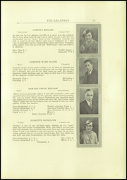 Page 13, 1930 Edition, Killingly High School - Killonian Yearbook (Danielson, CT) online yearbook collection