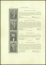 Page 14, 1930 Edition, Killingly High School - Killonian Yearbook (Danielson, CT) online yearbook collection