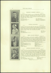 Page 8, 1930 Edition, Killingly High School - Killonian Yearbook (Danielson, CT) online yearbook collection