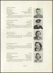 Page 15, 1943 Edition, Killingly High School - Killonian Yearbook (Danielson, CT) online yearbook collection