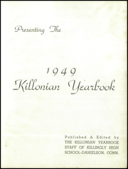 Page 3, 1949 Edition, Killingly High School - Killonian Yearbook (Danielson, CT) online yearbook collection