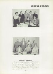 Page 9, 1957 Edition, Killingly High School - Killonian Yearbook (Danielson, CT) online yearbook collection