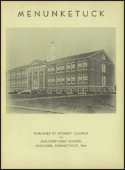 Page 5, 1946 Edition, Guilford High School - Menunketuck Yearbook (Guilford, CT) online yearbook collection