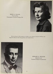 Page 10, 1958 Edition, Guilford High School - Menunketuck Yearbook (Guilford, CT) online yearbook collection