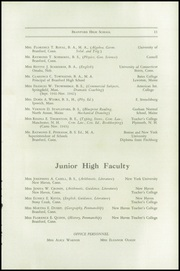 Page 17, 1943 Edition, Branford High School - Milestone Yearbook (Branford, CT) online yearbook collection