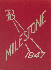 1947 Edition, Branford High School - Milestone Yearbook (Branford, CT)