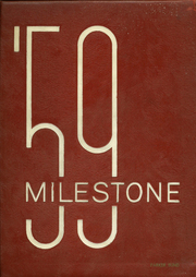 1959 Edition, Branford High School - Milestone Yearbook (Branford, CT)