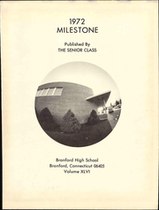 Page 7, 1972 Edition, Branford High School - Milestone Yearbook (Branford, CT) online yearbook collection