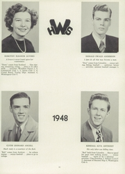 Page 15, 1948 Edition, Windham High School - Crystal Yearbook (Willimantic, CT) online yearbook collection