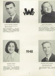 Page 16, 1948 Edition, Windham High School - Crystal Yearbook (Willimantic, CT) online yearbook collection