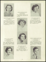 Page 17, 1951 Edition, Windham High School - Crystal Yearbook (Willimantic, CT) online yearbook collection