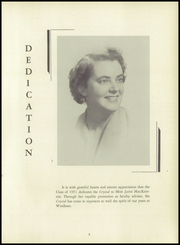 Page 7, 1951 Edition, Windham High School - Crystal Yearbook (Willimantic, CT) online yearbook collection