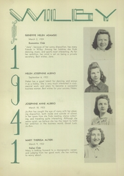 Page 12, 1941 Edition, Wilby High School - Wilby Yearbook (Waterbury, CT) online yearbook collection