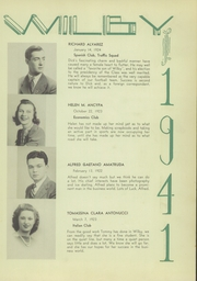 Page 13, 1941 Edition, Wilby High School - Wilby Yearbook (Waterbury, CT) online yearbook collection