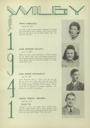 Page 14, 1941 Edition, Wilby High School - Wilby Yearbook (Waterbury, CT) online yearbook collection