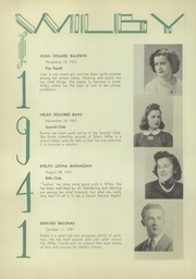 Page 16, 1941 Edition, Wilby High School - Wilby Yearbook (Waterbury, CT) online yearbook collection