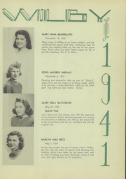 Page 17, 1941 Edition, Wilby High School - Wilby Yearbook (Waterbury, CT) online yearbook collection
