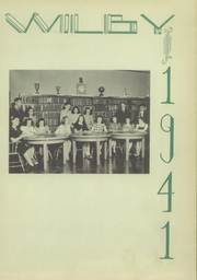 Page 7, 1941 Edition, Wilby High School - Wilby Yearbook (Waterbury, CT) online yearbook collection