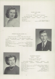 Page 11, 1945 Edition, Newtown High School - Bugle Yearbook (Newtown, CT) online yearbook collection