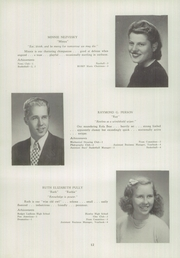 Page 14, 1945 Edition, Newtown High School - Bugle Yearbook (Newtown, CT) online yearbook collection
