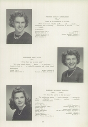 Page 15, 1945 Edition, Newtown High School - Bugle Yearbook (Newtown, CT) online yearbook collection