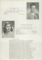 Page 16, 1945 Edition, Newtown High School - Bugle Yearbook (Newtown, CT) online yearbook collection