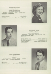 Page 11, 1946 Edition, Newtown High School - Bugle Yearbook (Newtown, CT) online yearbook collection