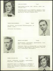 Page 12, 1956 Edition, Newtown High School - Bugle Yearbook (Newtown, CT) online yearbook collection