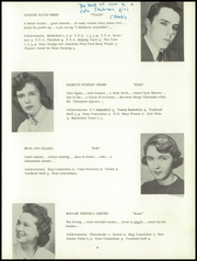 Page 13, 1956 Edition, Newtown High School - Bugle Yearbook (Newtown, CT) online yearbook collection