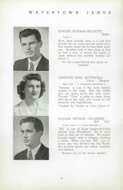 Page 16, 1943 Edition, Watertown High School - Yearbook (Watertown, CT) online yearbook collection