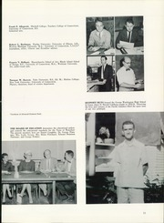 Page 15, 1961 Edition, Waterford High School - Excalibur Yearbook (Waterford, CT) online yearbook collection