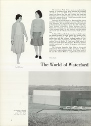 Page 8, 1961 Edition, Waterford High School - Excalibur Yearbook (Waterford, CT) online yearbook collection