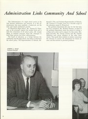 Page 16, 1968 Edition, Waterford High School - Excalibur Yearbook (Waterford, CT) online yearbook collection