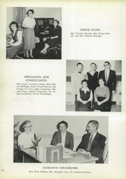 Page 14, 1957 Edition, Milford High School - Wepawaug Yearbook (Milford, CT) online yearbook collection