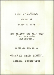 Page 5, 1959 Edition, Ansonia High School - Lavender Yearbook (Ansonia, CT) online yearbook collection