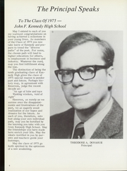 Page 10, 1975 Edition, Kennedy High School - Yearbook (Waterbury, CT) online yearbook collection