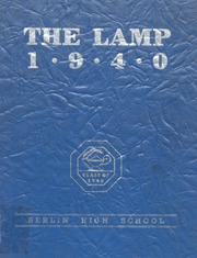 Page 1, 1940 Edition, Berlin High School - Lamp Yearbook (Berlin, CT) online yearbook collection