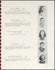 Page 17, 1940 Edition, Berlin High School - Lamp Yearbook (Berlin, CT) online yearbook collection