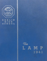 Berlin High School - Lamp Yearbook (Berlin, CT) online yearbook collection, 1941 Edition, Page 1