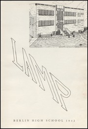 Page 5, 1942 Edition, Berlin High School - Lamp Yearbook (Berlin, CT) online yearbook collection
