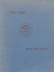 Berlin High School - Lamp Yearbook (Berlin, CT) online yearbook collection, 1945 Edition, Page 1