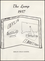 Page 5, 1957 Edition, Berlin High School - Lamp Yearbook (Berlin, CT) online yearbook collection