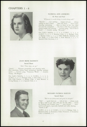 Page 16, 1951 Edition, Sacred Heart High School - Golden Book Yearbook (Waterbury, CT) online yearbook collection