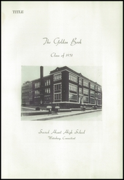 Page 5, 1951 Edition, Sacred Heart High School - Golden Book Yearbook (Waterbury, CT) online yearbook collection