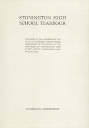 Page 5, 1933 Edition, Stonington High School - Pawmystonian Yearbook (Pawcatuck, CT) online yearbook collection
