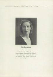 Page 7, 1933 Edition, Stonington High School - Pawmystonian Yearbook (Pawcatuck, CT) online yearbook collection