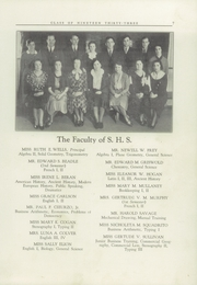 Page 9, 1933 Edition, Stonington High School - Pawmystonian Yearbook (Pawcatuck, CT) online yearbook collection